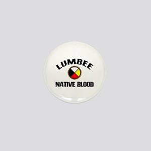 Lumbee Native Blood Mini Button