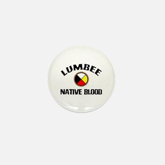 Lumbee Native Blood Mini Button