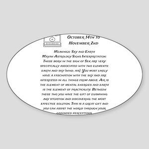 Sek Traits Sticker (Oval)