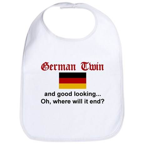 German Twin-Good Looking Bib
