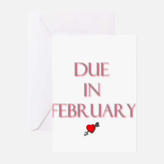 Due in February Greeting Cards (Pk of 10)