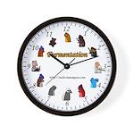 Furmentation Cast Wall Clock