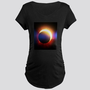 Solar Eclipse Maternity T-Shirt