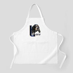 Bluetick Coonhound Love Apron