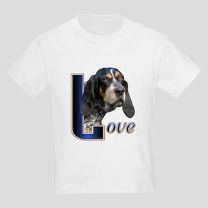 Bluetick Coonhound Love Kids Light T-Shirt