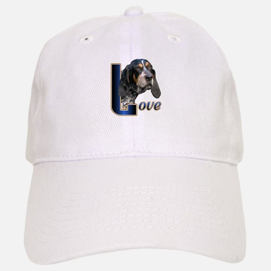 Bluetick Coonhound Love Baseball Baseball Cap