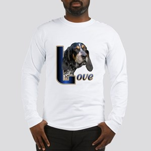 Bluetick Coonhound Love Long Sleeve T-Shirt