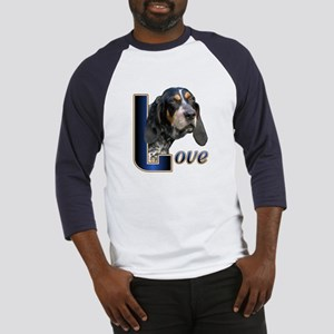 Bluetick Coonhound Love Baseball Jersey