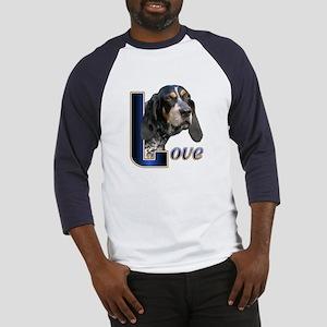 Bluetick Coonhound Love Baseball Jersey