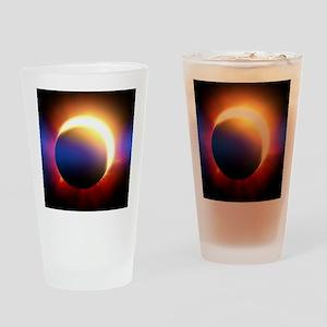 Solar Eclipse Drinking Glass