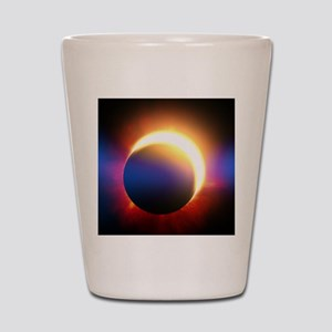 Solar Eclipse Shot Glass