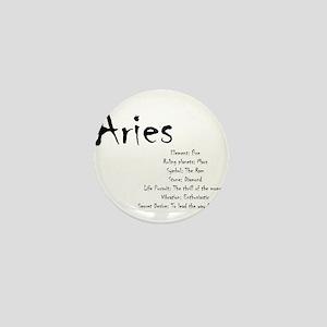 Aries Traits Mini Button