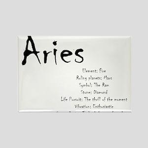 Aries Traits Magnets