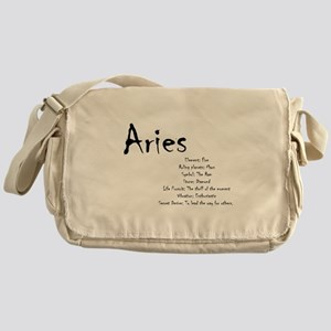 Aries Traits Messenger Bag
