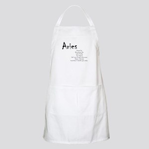 Aries Traits Light Apron