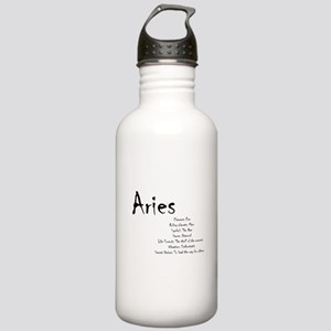 Aries Traits Water Bottle