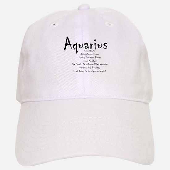Aquarius Traits Baseball Baseball Baseball Cap