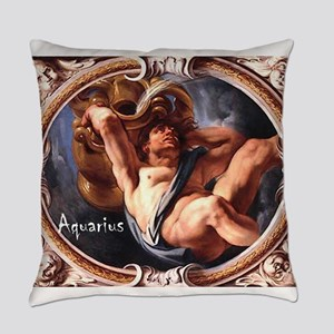 Aquarius Art #2 Everyday Pillow