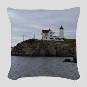 Cape Neddick Woven Throw Pillow