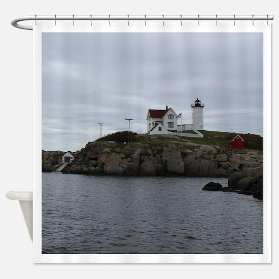 Cape Neddick Shower Curtain