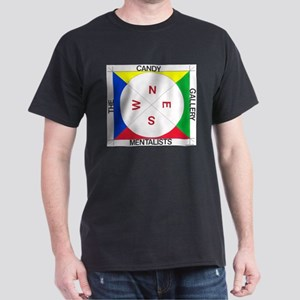 Compass (white/primary) Dark T-Shirt