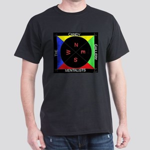 Compass (black/primary) Dark T-Shirt
