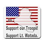 Support Lt. Watada! Mousepad