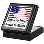Support Lt. Watada! Keepsake Box