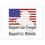 Support Lt. Watada! Small Poster