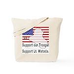 Support Lt. Watada! (2-Sided) Tote Bag