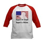 Support Lt. Watada! (2-Sided) Kids Baseball Jersey
