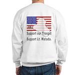 Support Lt. Watada! (BackDesign) Sweatshirt
