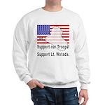 Support Lt. Watada! Sweatshirt