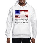 Support Lt. Watada! Hooded Sweatshirt