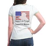 Support Lt. Watada! (BackDesign) Jr. Ringer T-Shir