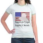 Support Lt. Watada! Jr. Ringer T-Shirt