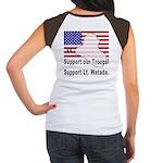 Support Lt. Watada! (BackDesign) Women's Cap Sleev