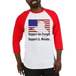 Support Lt. Watada! (2-Sided) Baseball Jersey