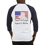 Support Lt. Watada! (BackDesign) Baseball Jersey