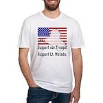 Support Lt. Watada! Fitted T-Shirt