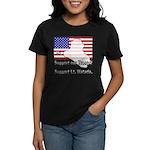 Support Lt. Watada! Women's Dark T-Shirt