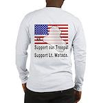 Support Lt. Watada! (BackDesign) Long Sleeve T-Shi