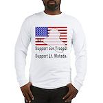 Support Lt. Watada! Long Sleeve T-Shirt