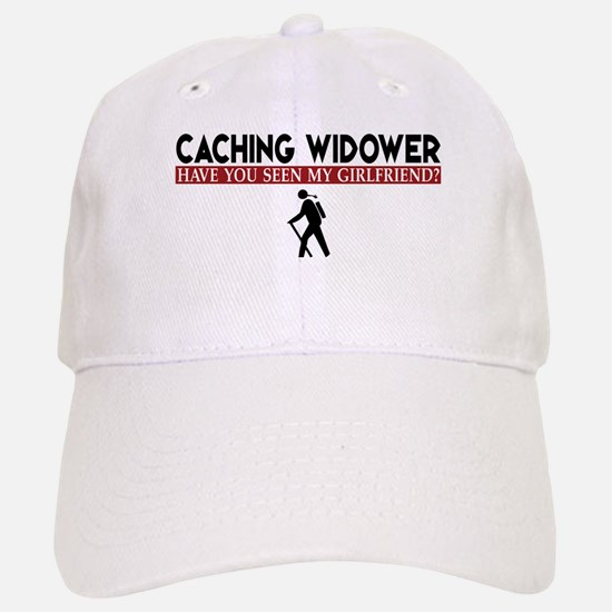 Caching Widower - Girlfriend Version Baseball Baseball Cap