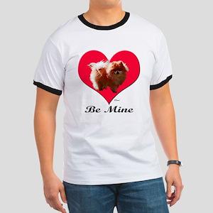 A Pomeranian Valentine Ringer T