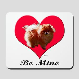 A Pomeranian Valentine Mousepad
