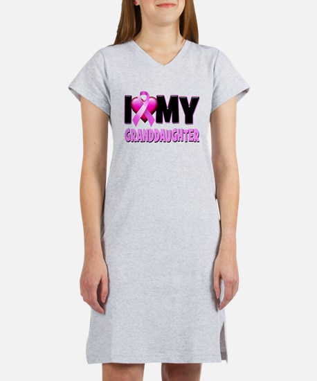 I Love My Granddaughter Women's Nightshirt