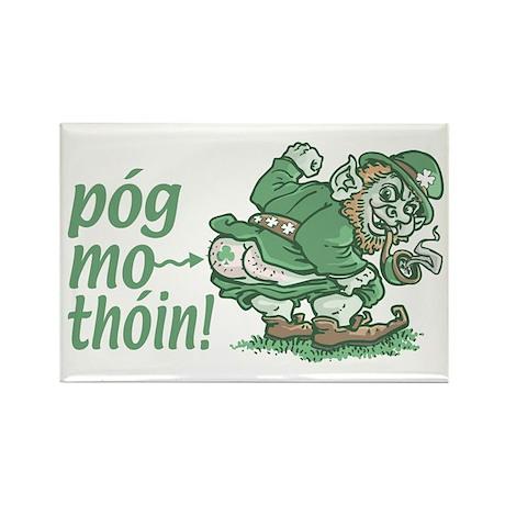 Pog Mo Thoin Irish Rectangle Magnet (10 pack)