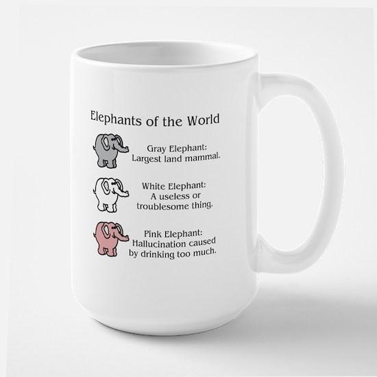 Elephants OTWorld - Large Mug