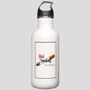 Quit Smoking Stainless Water Bottle 1.0L
